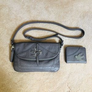Marc Jacobs crossbody purse with matching wallet